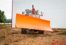Отвал бульдозерный гидроповоротный к ХТЗ-150/ОРТЗ 150К