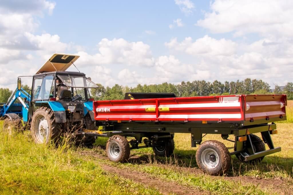 Прицепы тракторные самосвальные БИЗОН – на 5 тонн и 6,5 тонн